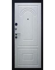 Входная дверь Дверной континент Флоренция B мокко / беленый дуб