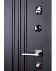 Дверь Самурай Черный Лайт