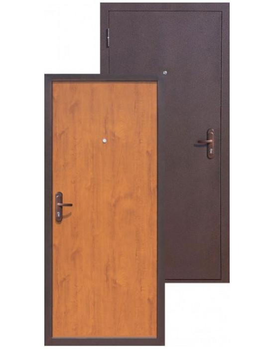 Дверь Цитадель СТРОЙГОСТ 5-1 ЗОЛОТИСТЫЙ ДУБ