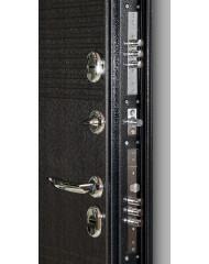 Входная дверь Дверной континент ТЕРМАЛЬ ВЕНГЕ - уличная дверь с терморазрывом