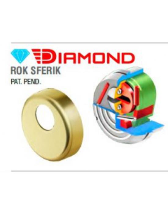 DISEC Diamond Rok Sferic - Броненакладка врезная Disec Diamond Rok Sferic