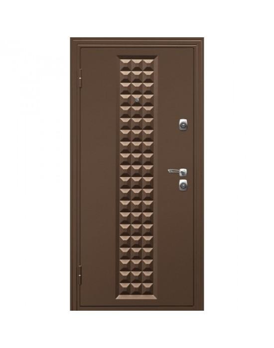 Входная дверь ДК КОНТУР Беленый Дуб